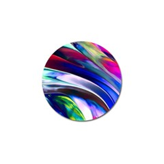 Abstract Acryl Art Golf Ball Marker (4 Pack) by tarastyle