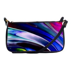 Abstract Acryl Art Shoulder Clutch Bags by tarastyle