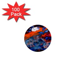 Abstract Acryl Art 1  Mini Buttons (100 Pack)  by tarastyle