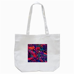 Abstract Acryl Art Tote Bag (white) by tarastyle