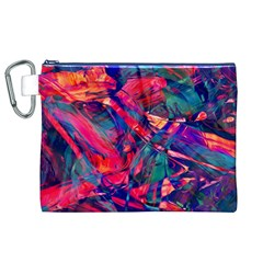 Abstract Acryl Art Canvas Cosmetic Bag (xl) by tarastyle