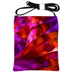 Abstract Acryl Art Shoulder Sling Bags by tarastyle