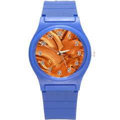 Abstract Acryl Art Round Plastic Sport Watch (s) by tarastyle