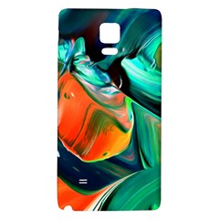 Abstract Acryl Art Galaxy Note 4 Back Case by tarastyle
