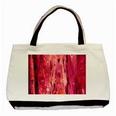 Abstract Acryl Art Basic Tote Bag by tarastyle