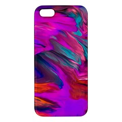 Abstract Acryl Art Apple Iphone 5 Premium Hardshell Case by tarastyle