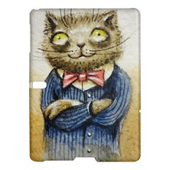 Cat Samsung Galaxy Tab S (10 5 ) Hardshell Case  by Koolcat