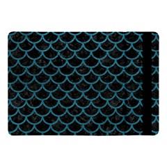 Scales1 Black Marble & Teal Leather (r) Apple Ipad Pro 10 5   Flip Case by trendistuff