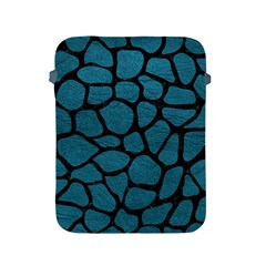 Skin1 Black Marble & Teal Leather (r) Apple Ipad 2/3/4 Protective Soft Cases by trendistuff