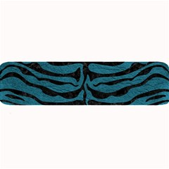 Skin2 Black Marble & Teal Leather Large Bar Mats by trendistuff