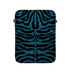 Skin2 Black Marble & Teal Leather (r) Apple Ipad 2/3/4 Protective Soft Cases by trendistuff