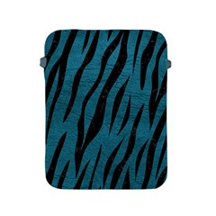Skin3 Black Marble & Teal Leather Apple Ipad 2/3/4 Protective Soft Cases by trendistuff