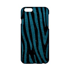 Skin4 Black Marble & Teal Leather Apple Iphone 6/6s Hardshell Case by trendistuff