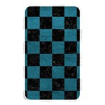 SQUARE1 BLACK MARBLE & TEAL LEATHER Memory Card Reader