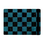 SQUARE1 BLACK MARBLE & TEAL LEATHER Apple iPad Mini Flip Case