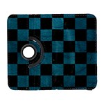 SQUARE1 BLACK MARBLE & TEAL LEATHER Galaxy S3 (Flip/Folio)