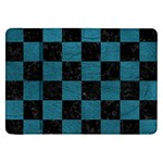 SQUARE1 BLACK MARBLE & TEAL LEATHER Samsung Galaxy Tab 8.9  P7300 Flip Case
