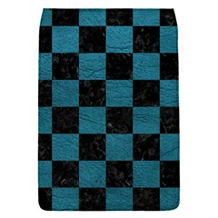 SQUARE1 BLACK MARBLE & TEAL LEATHER Flap Covers (S)