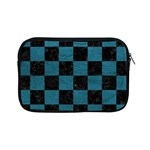 SQUARE1 BLACK MARBLE & TEAL LEATHER Apple iPad Mini Zipper Cases