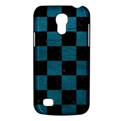 SQUARE1 BLACK MARBLE & TEAL LEATHER Galaxy S4 Mini