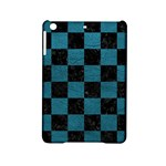 SQUARE1 BLACK MARBLE & TEAL LEATHER iPad Mini 2 Hardshell Cases