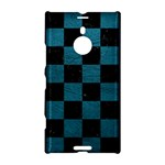 SQUARE1 BLACK MARBLE & TEAL LEATHER Nokia Lumia 1520
