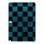 SQUARE1 BLACK MARBLE & TEAL LEATHER Samsung Galaxy Tab Pro 12.2 Hardshell Case