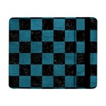 SQUARE1 BLACK MARBLE & TEAL LEATHER Samsung Galaxy Tab Pro 8.4  Flip Case