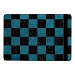 SQUARE1 BLACK MARBLE & TEAL LEATHER Samsung Galaxy Tab Pro 10.1  Flip Case