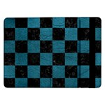 SQUARE1 BLACK MARBLE & TEAL LEATHER Samsung Galaxy Tab Pro 12.2  Flip Case