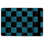 SQUARE1 BLACK MARBLE & TEAL LEATHER iPad Air 2 Flip