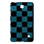 SQUARE1 BLACK MARBLE & TEAL LEATHER Samsung Galaxy Tab 4 (7 ) Hardshell Case