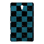 SQUARE1 BLACK MARBLE & TEAL LEATHER Samsung Galaxy Tab S (8.4 ) Hardshell Case