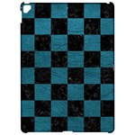 SQUARE1 BLACK MARBLE & TEAL LEATHER Apple iPad Pro 12.9   Hardshell Case