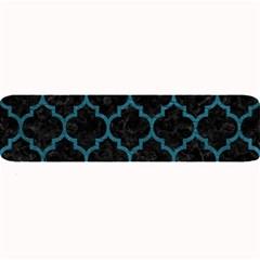 Tile1 Black Marble & Teal Leather (r) Large Bar Mats by trendistuff