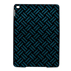 Woven2 Black Marble & Teal Leather (r) Ipad Air 2 Hardshell Cases by trendistuff