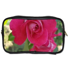 Romantic Red Rose Photography Toiletries Bags 2 Side by yoursparklingshop