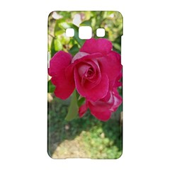 Romantic Red Rose Photography Samsung Galaxy A5 Hardshell Case  by yoursparklingshop