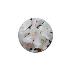 Floral Design White Flowers Photography Golf Ball Marker (10 Pack) by yoursparklingshop