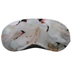 Floral Design White Flowers Photography Sleeping Masks by yoursparklingshop