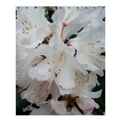 Floral Design White Flowers Photography Shower Curtain 60  X 72  (medium)  by yoursparklingshop