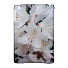Floral Design White Flowers Photography Apple Ipad Mini Hardshell Case (compatible With Smart Cover) by yoursparklingshop