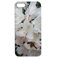 Floral Design White Flowers Photography Apple Iphone 5 Hardshell Case With Stand by yoursparklingshop
