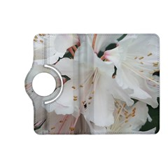 Floral Design White Flowers Photography Kindle Fire Hd (2013) Flip 360 Case by yoursparklingshop