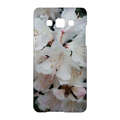 Floral Design White Flowers Photography Samsung Galaxy A5 Hardshell Case  by yoursparklingshop