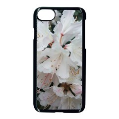 Floral Design White Flowers Photography Apple Iphone 7 Seamless Case (black) by yoursparklingshop
