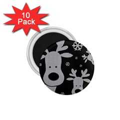 Cute Reindeer  1 75  Magnets (10 Pack)  by Valentinaart