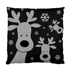 Cute Reindeer  Standard Cushion Case (two Sides) by Valentinaart