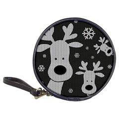 Cute Reindeer  Classic 20 Cd Wallets by Valentinaart