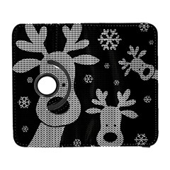 Cute Reindeer  Galaxy S3 (flip/folio) by Valentinaart